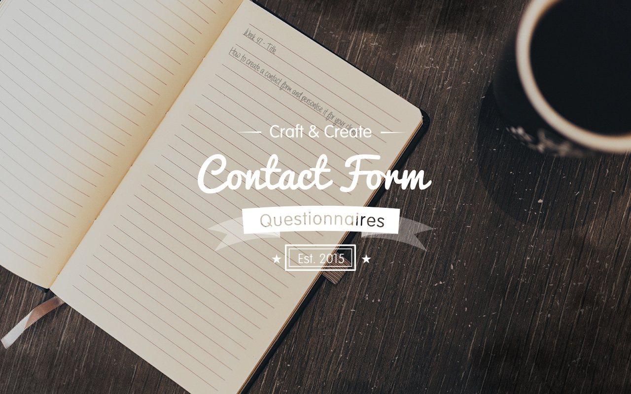 Contact-Form-Questionnaire