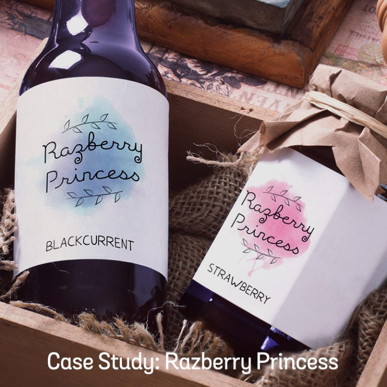 Case Study: Razberry Princess Branding