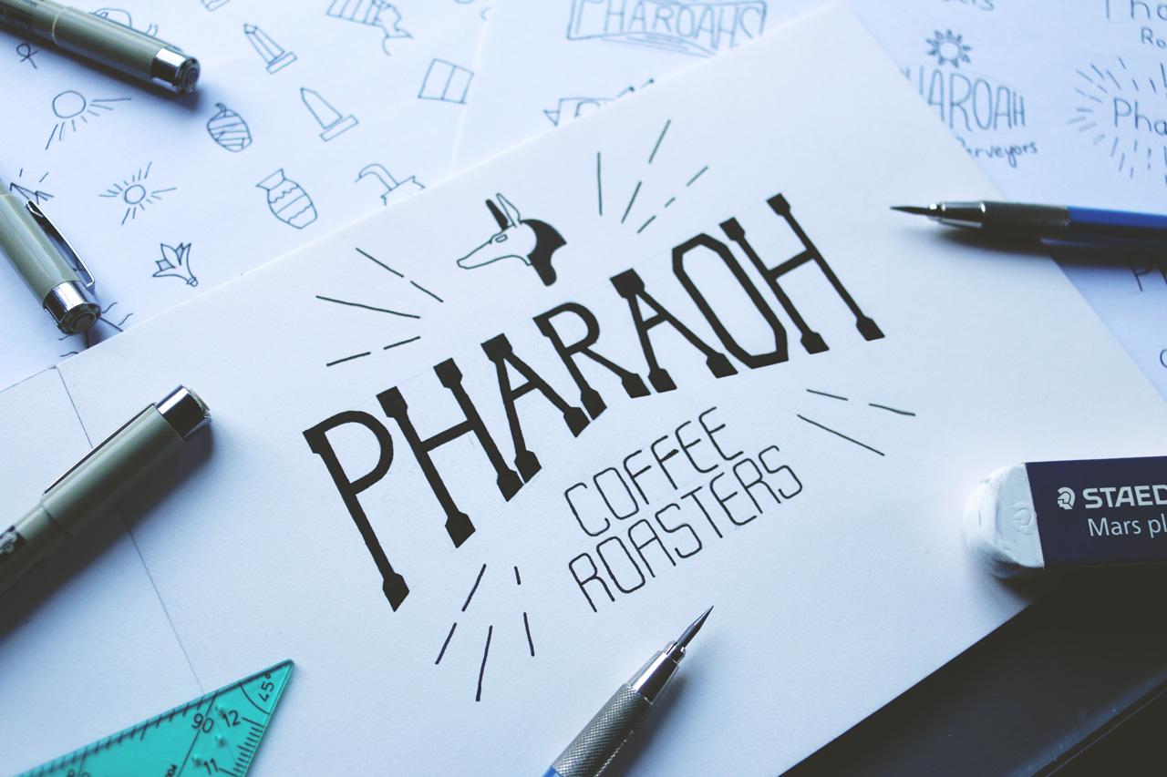 Pharaoh-coffee-roasters-handlettering