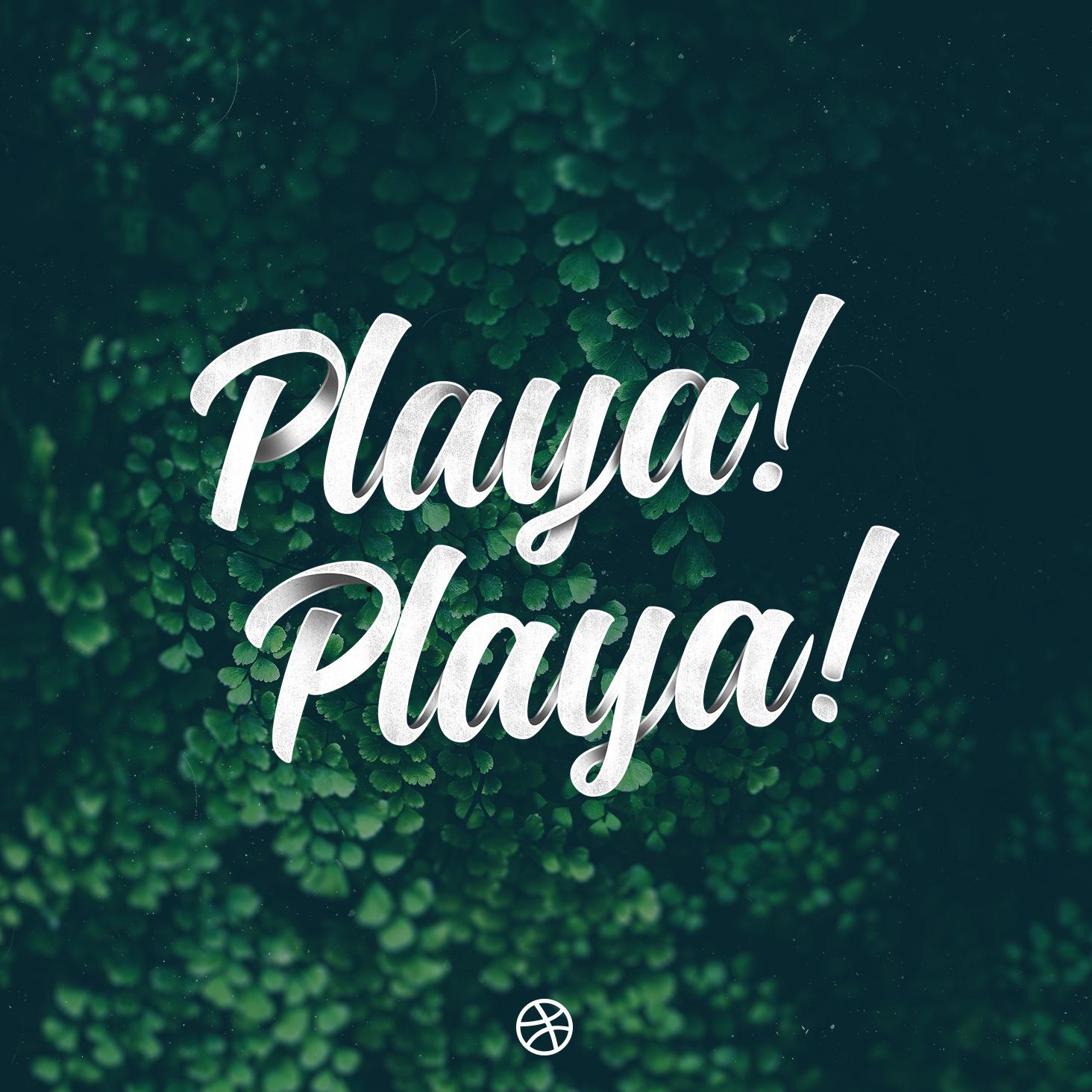 Playa! Playa! – Dribbble Debut